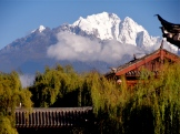 Your cycle tour begins in Lijiang at the base of Jade Dragon.