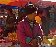Every town has a market on a specific day; your guides know when and where to find markets.