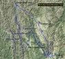Snow Mountain Tour Map